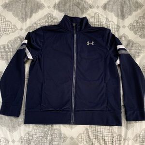 Boys Under Armour jacket. Size: Youth Large